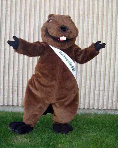 beaver municipal mascot