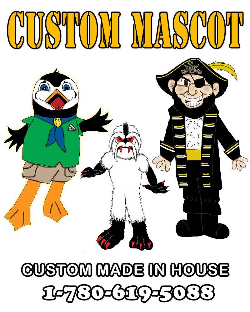 9e569a62c Custom Made Mascot Characters