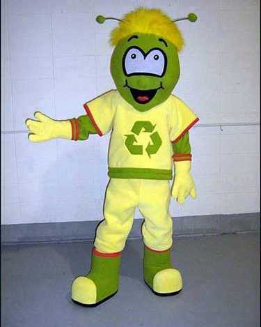 recycle mascot