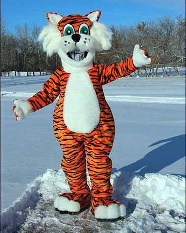 school tiger mascot