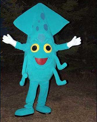 squid mascot