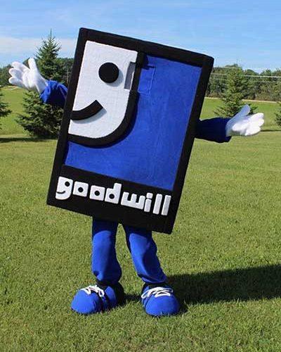 goodwill mascot